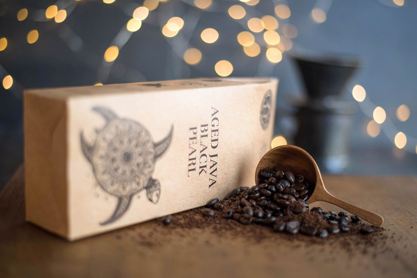 Aged Java Black Pearl Coffee
