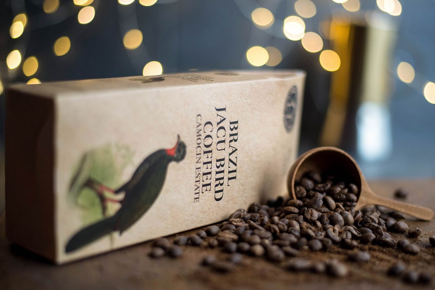 Brazilian Jacu Bird Coffee