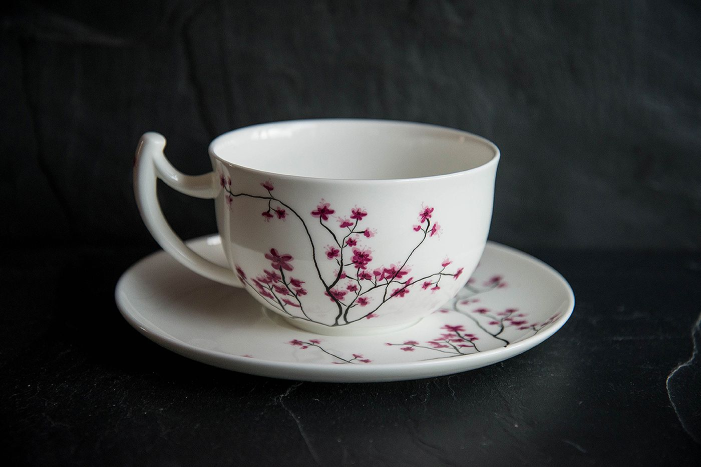 Cherry Blossom Breakfast Cup