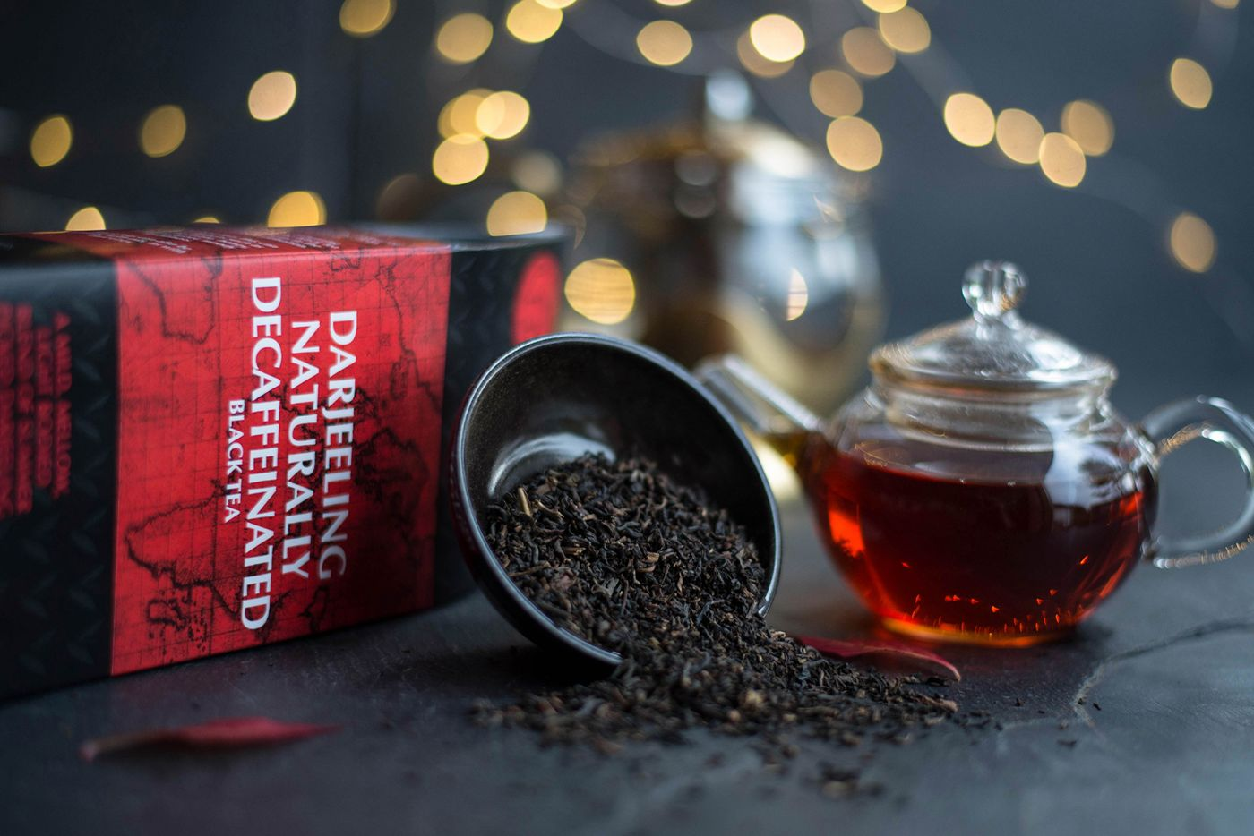 Darjeeling Naturally Decaffeinated Black Tea