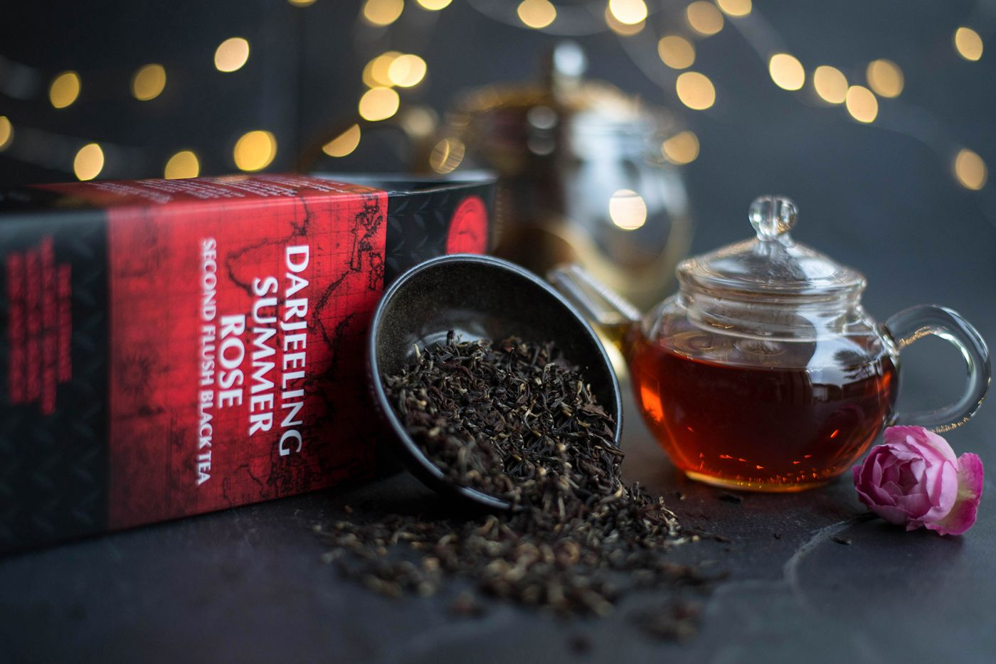 Darjeeling Summer Rose Second Flush Black Tea