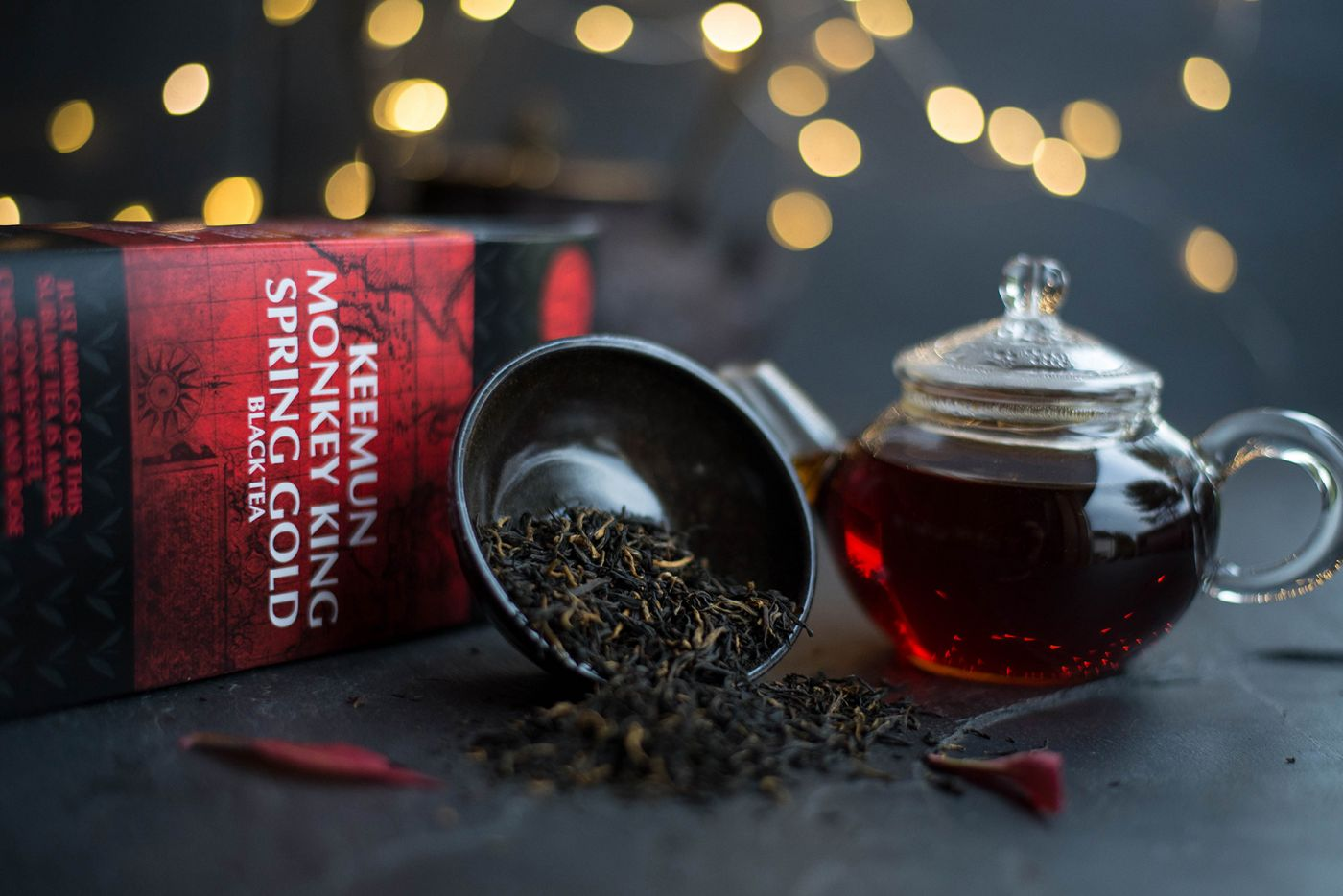 Keemun Monkey King Spring Gold Black Tea
