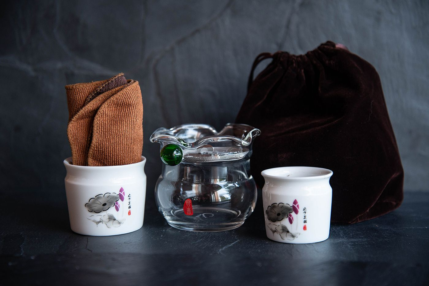 Poppy Traditional Chinese Travelling Tea Set