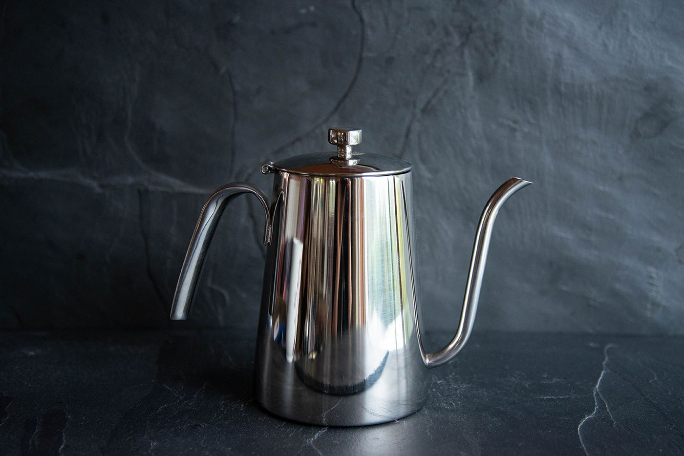 Kinto Slow Pour Kettle Stainless Steel