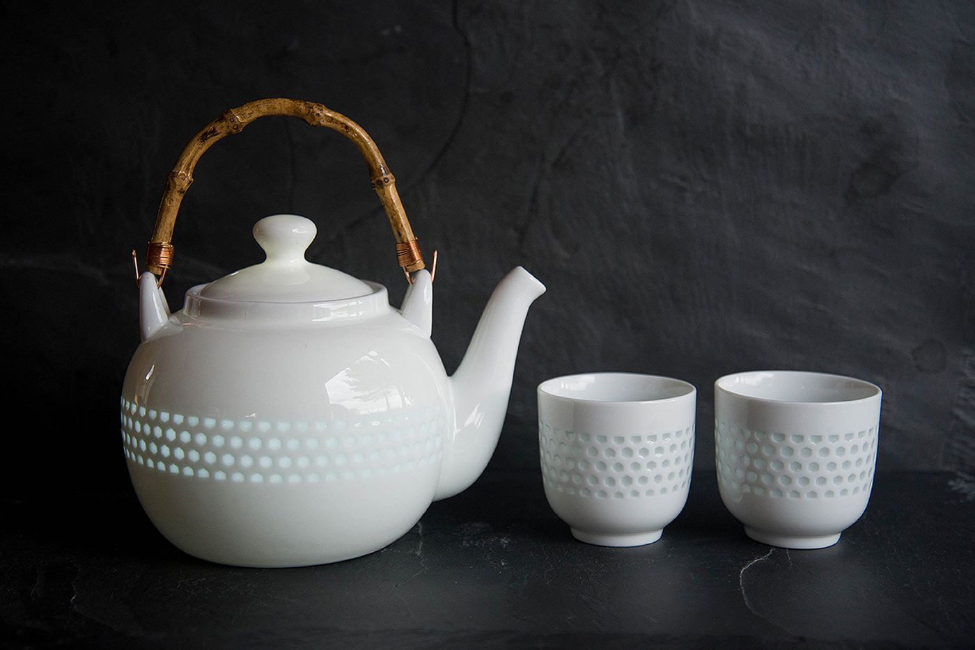 Guang Rice Glaze Teapot Set