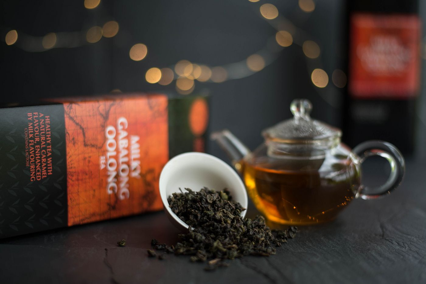Milky Gabalong Oolong Tea