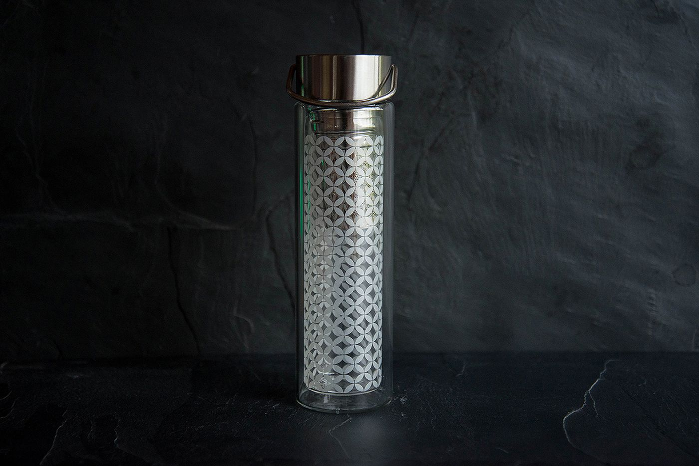 May-Lin Glass Infuser Flask