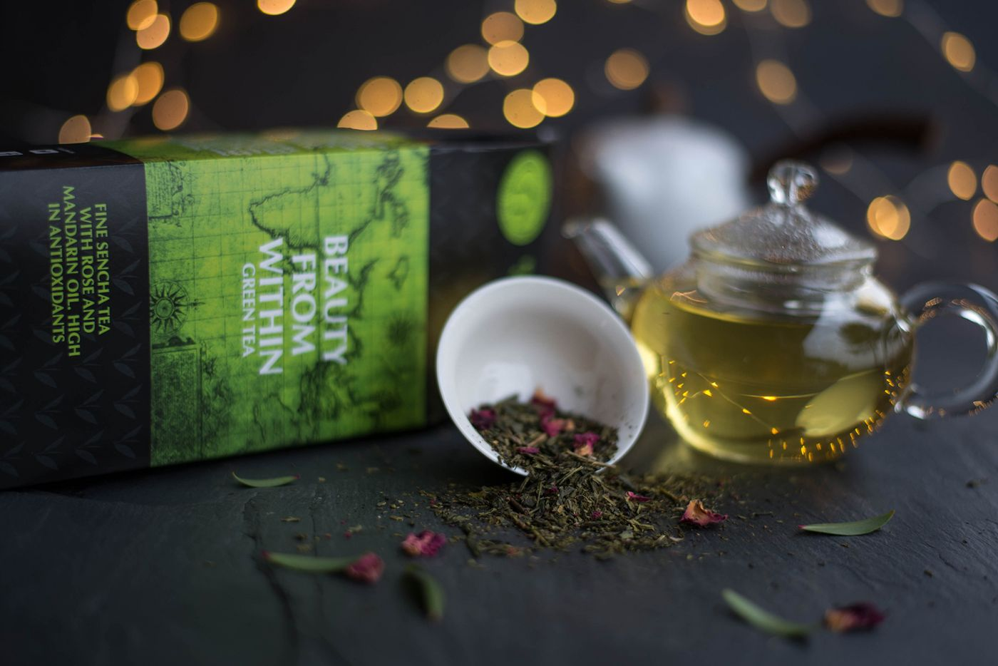 Beauty from Within Flavoured Green Tea
