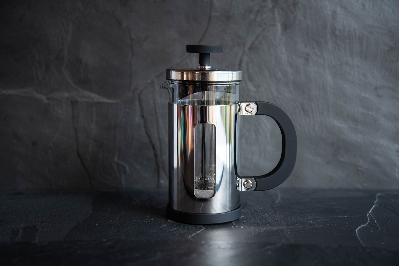 Pisa 3 Cup Chrome Cafetiere