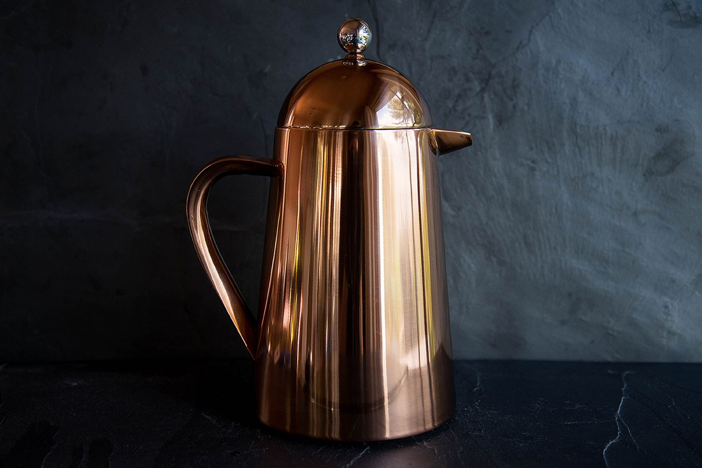 Thermique 8 Cup Copper Finish Cafetiere