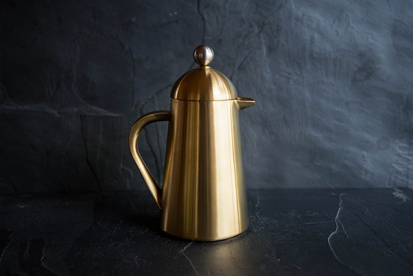 Thermique 3 Cup Brushed Gold Cafetiere