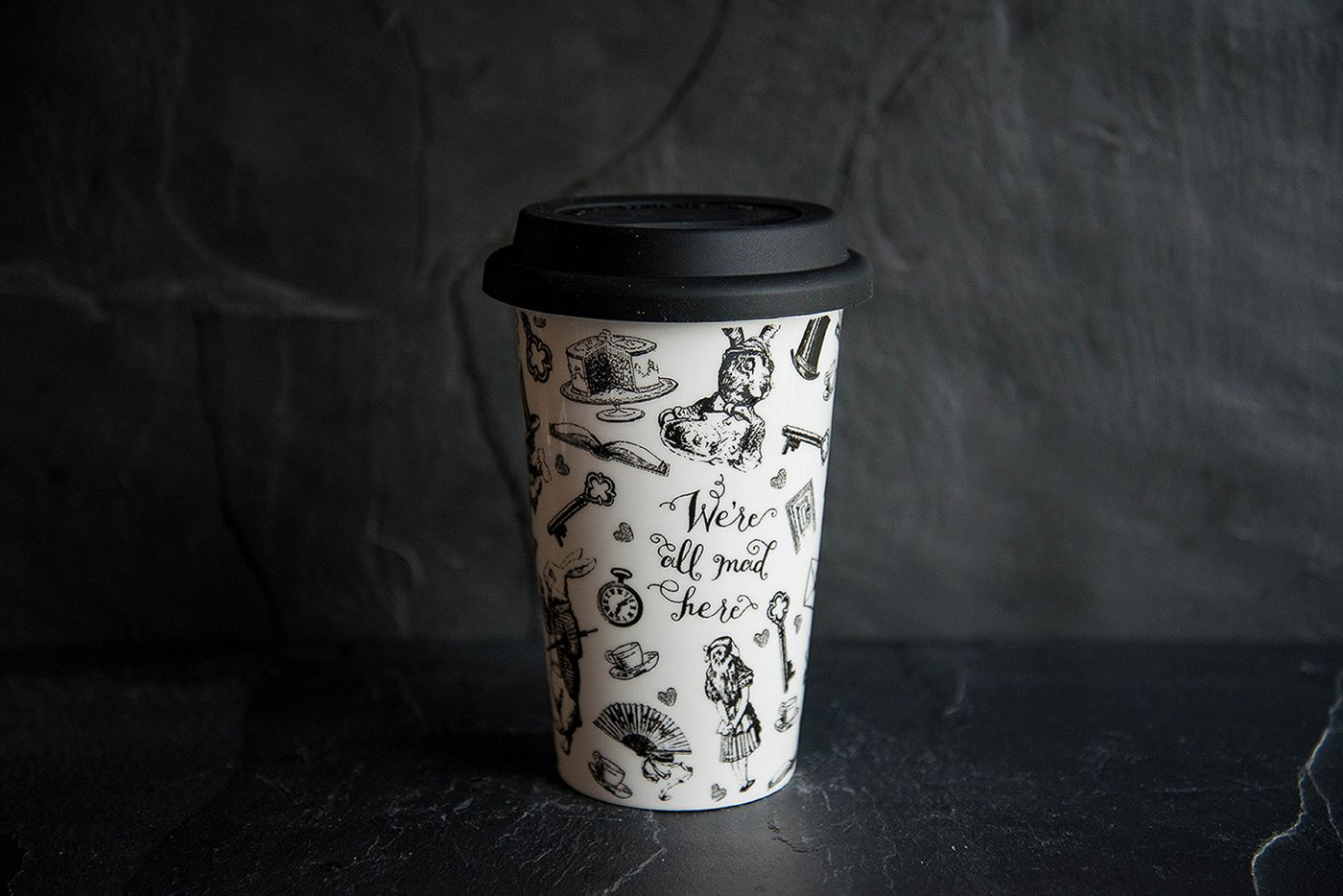 Alice In Wonderland Travel Mug V&A Alice