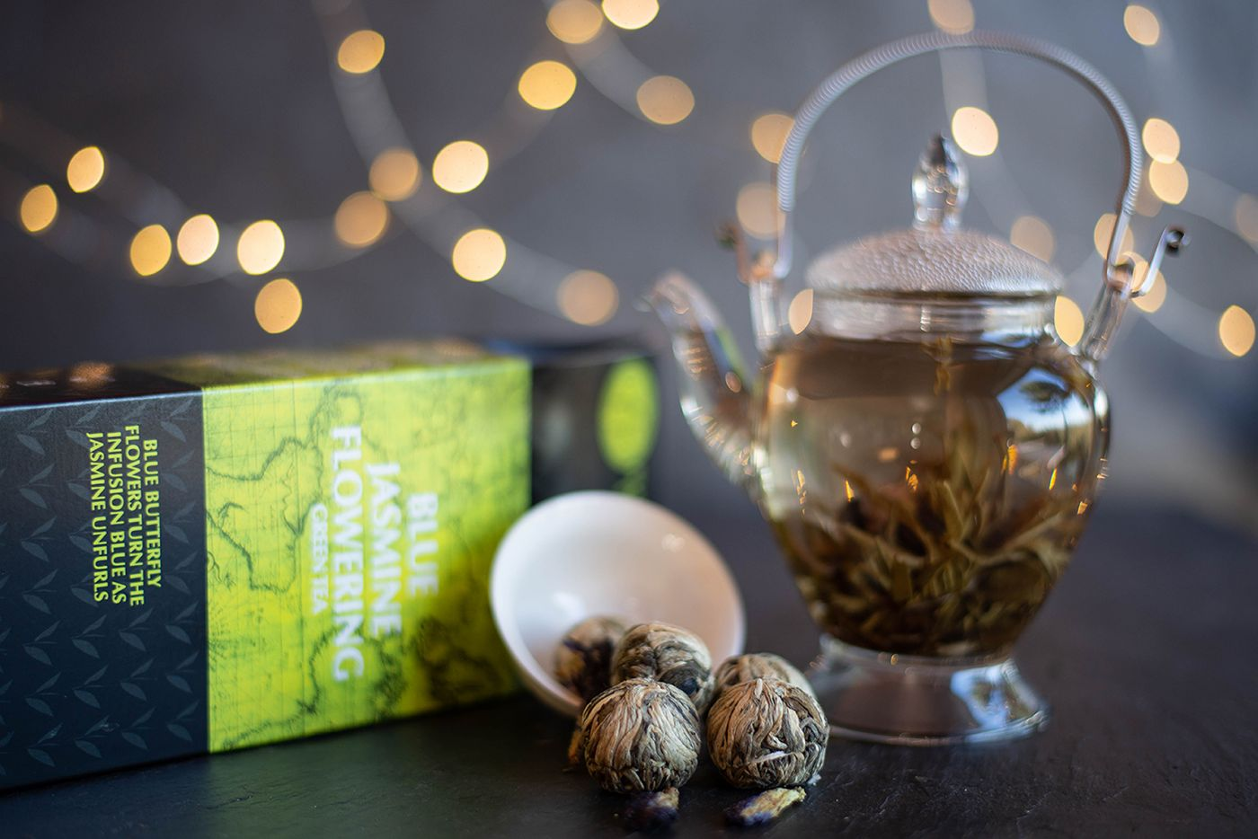 Blue Jasmine Flowering Green Tea