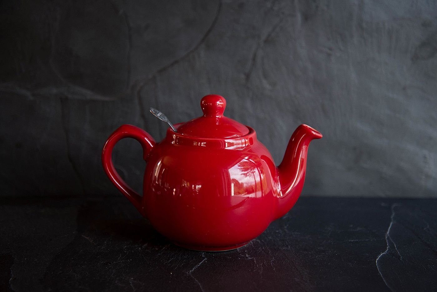 Farmhouse Red 2 Cup Infuser Teapot