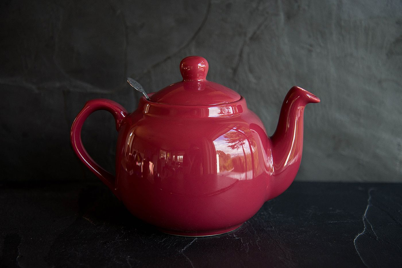 Farmhouse Pink 4 Cup Infuser Teapot