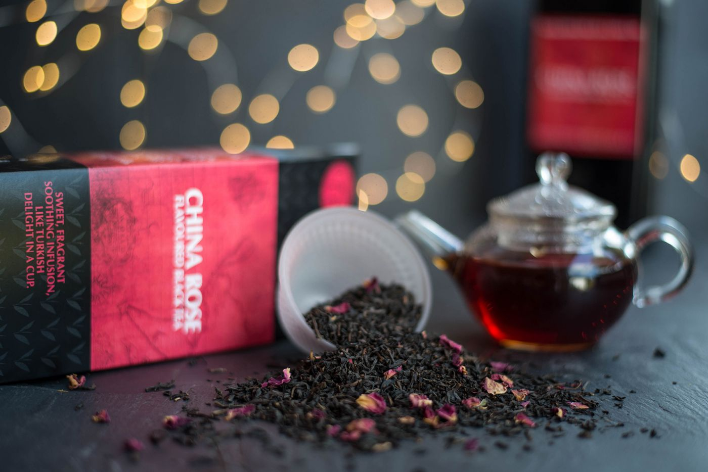 China Rose Flavoured Black Tea
