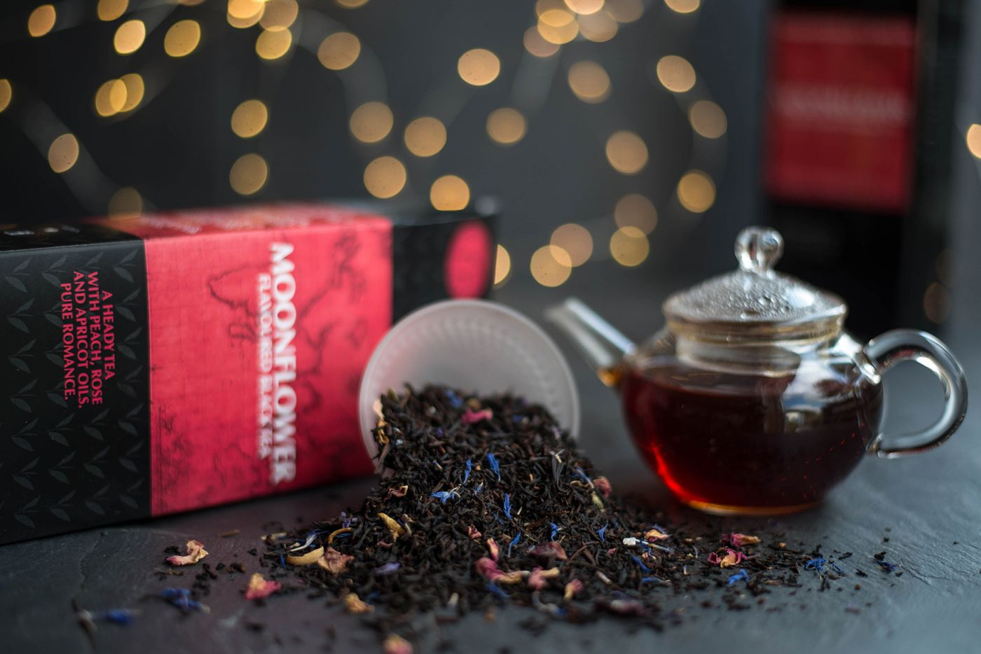 Moonflower Flavoured Black Tea