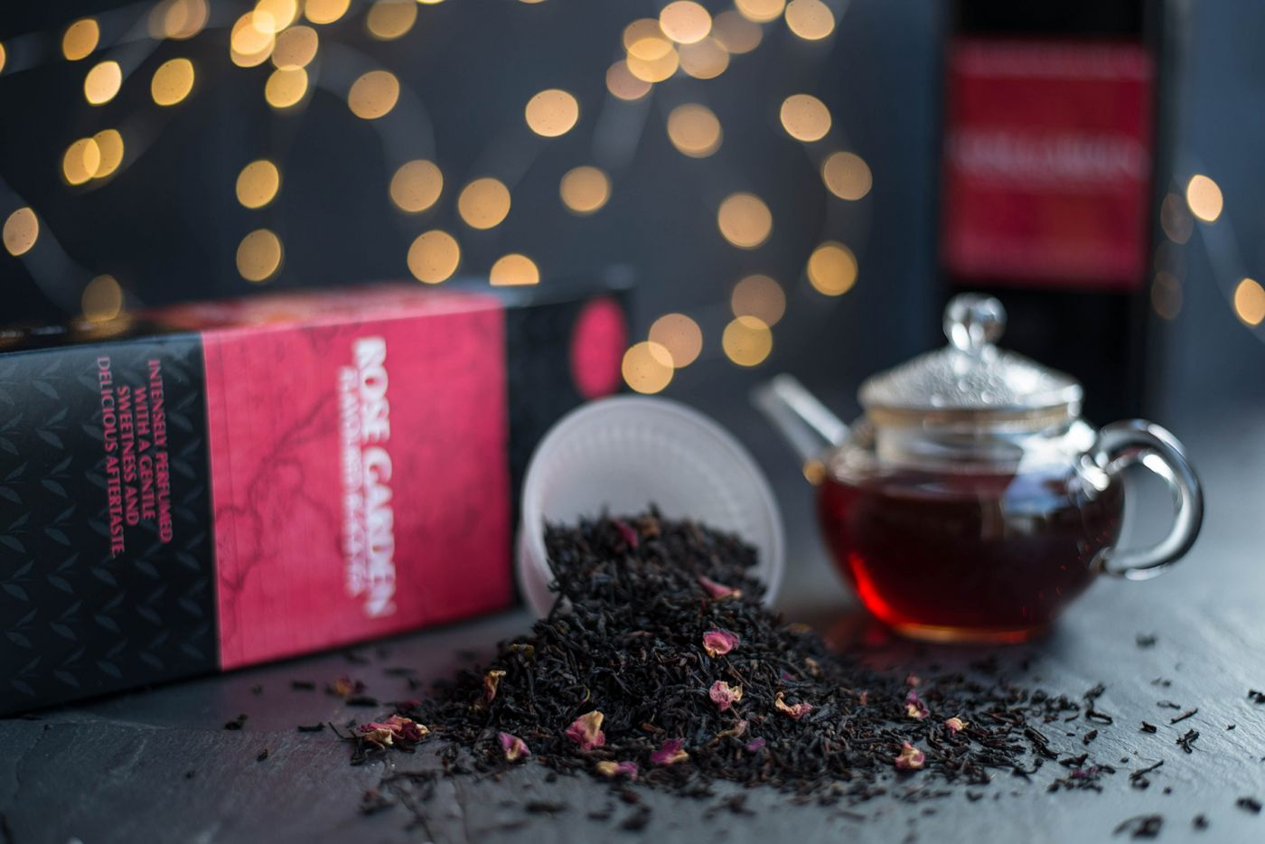 Rose Garden Flavoured Black Tea