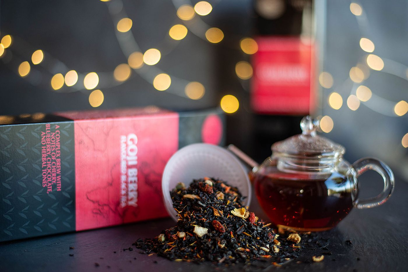 Goji Berry Flavoured Black Tea