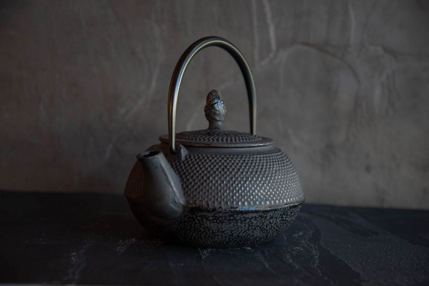 Kiyoko Black Cast Iron Teapot 0.8L