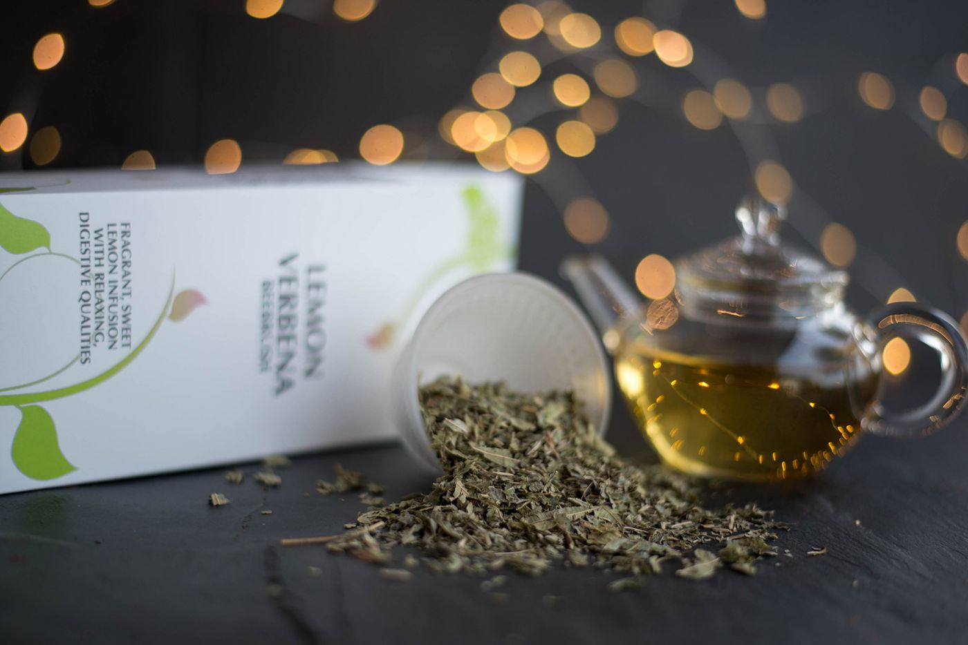Lemon Verbena Beebrush Herbal Tea