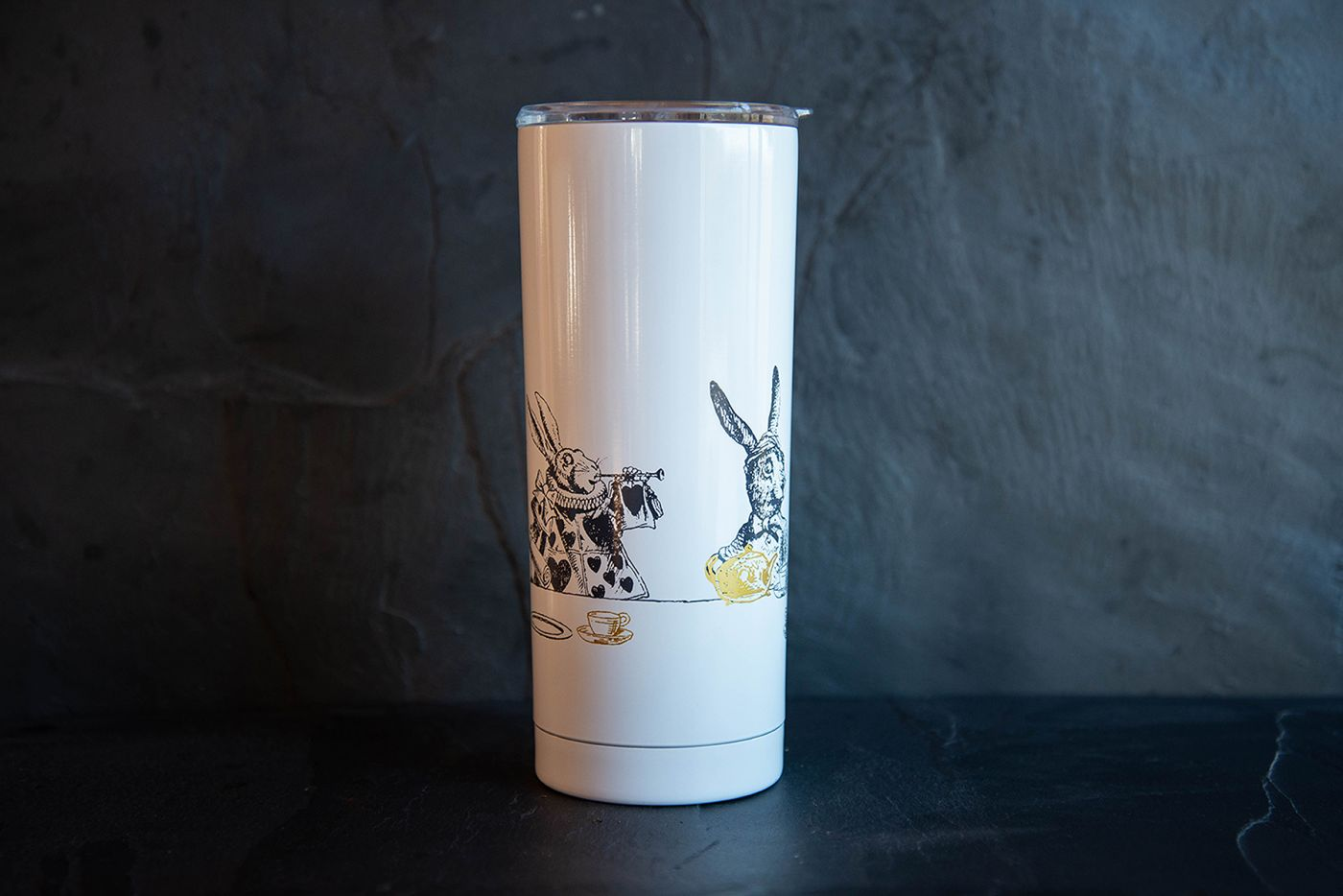Alice in Wonderland Built 590ml Double Walled Stainless Steel Travel Mug
