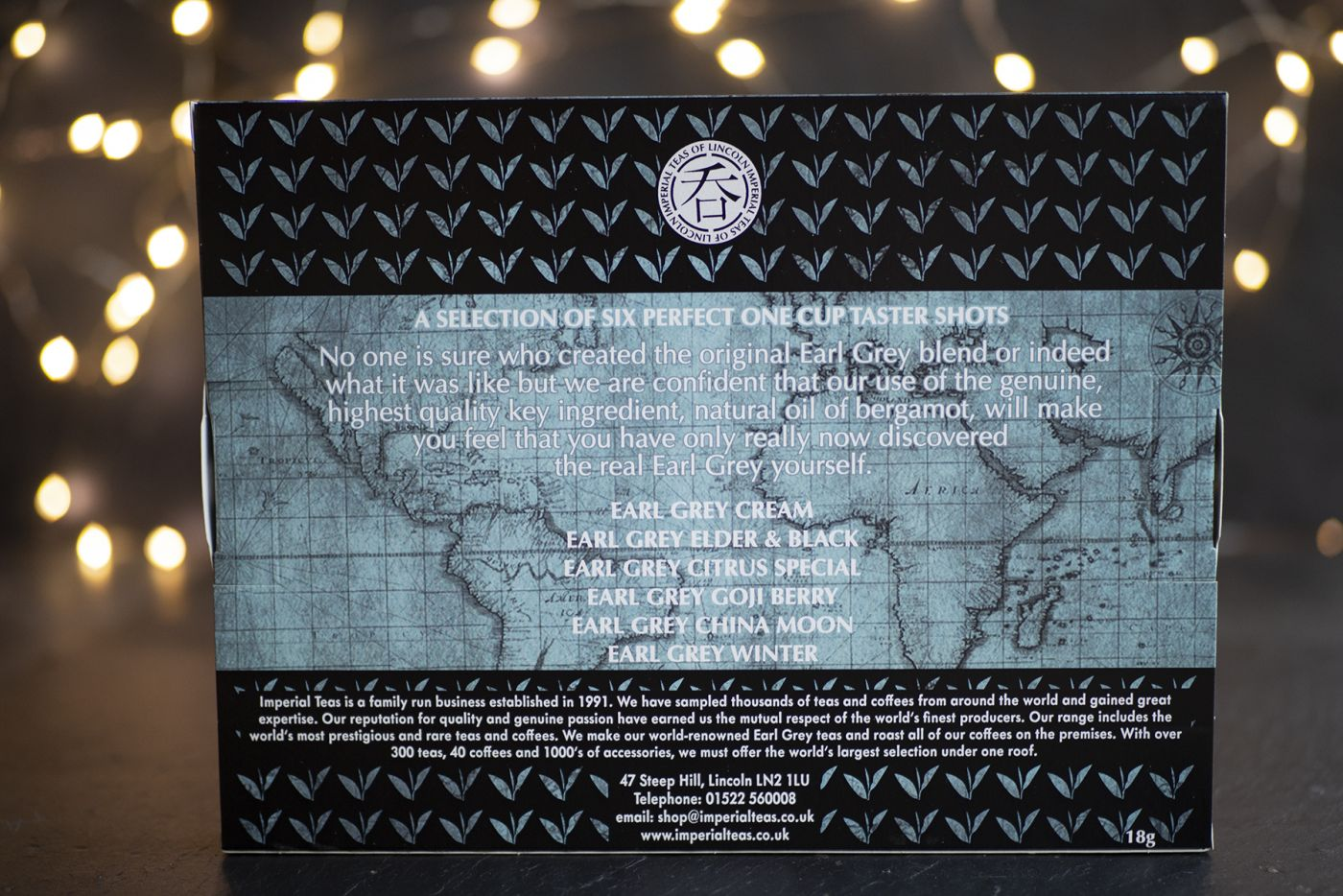 Six of the Best Earl Grey Selection Pack
