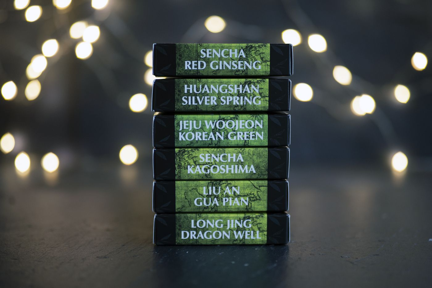 Six of the Best Green Teas Selection Pack