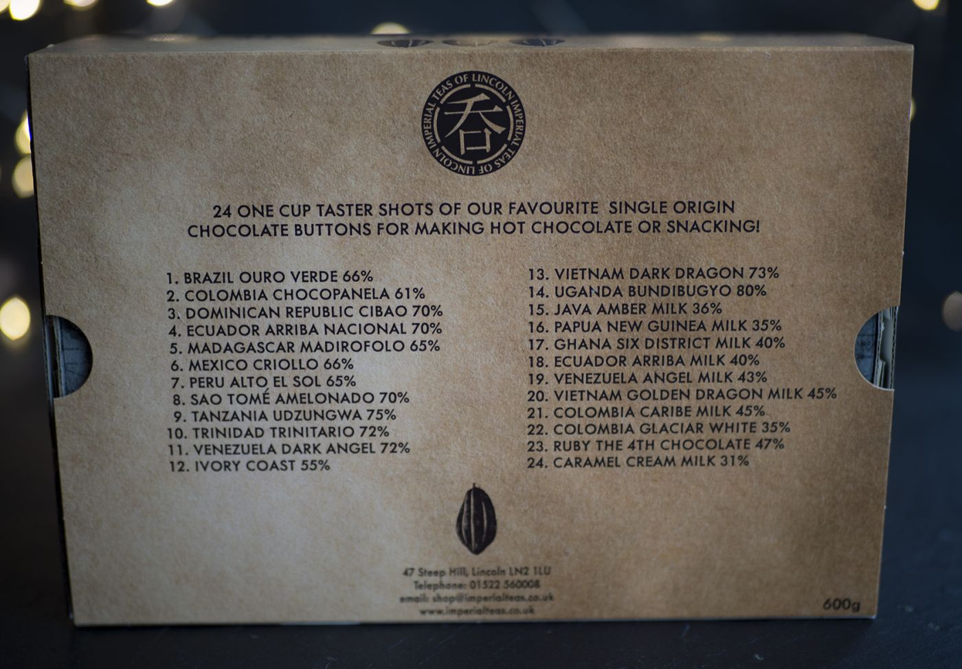 World Tour of Chocolate 24 Pack