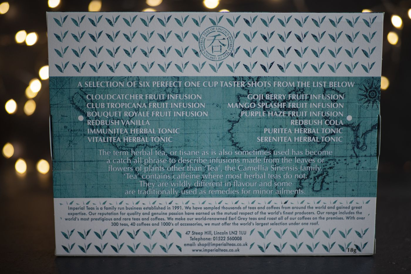 Six of the Best Herbal Teas Selection Pack