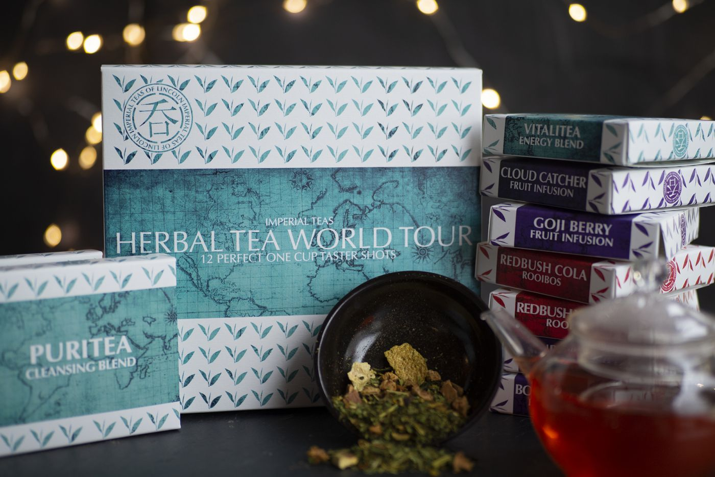 World Tour of Herbal Tea 12 Pack