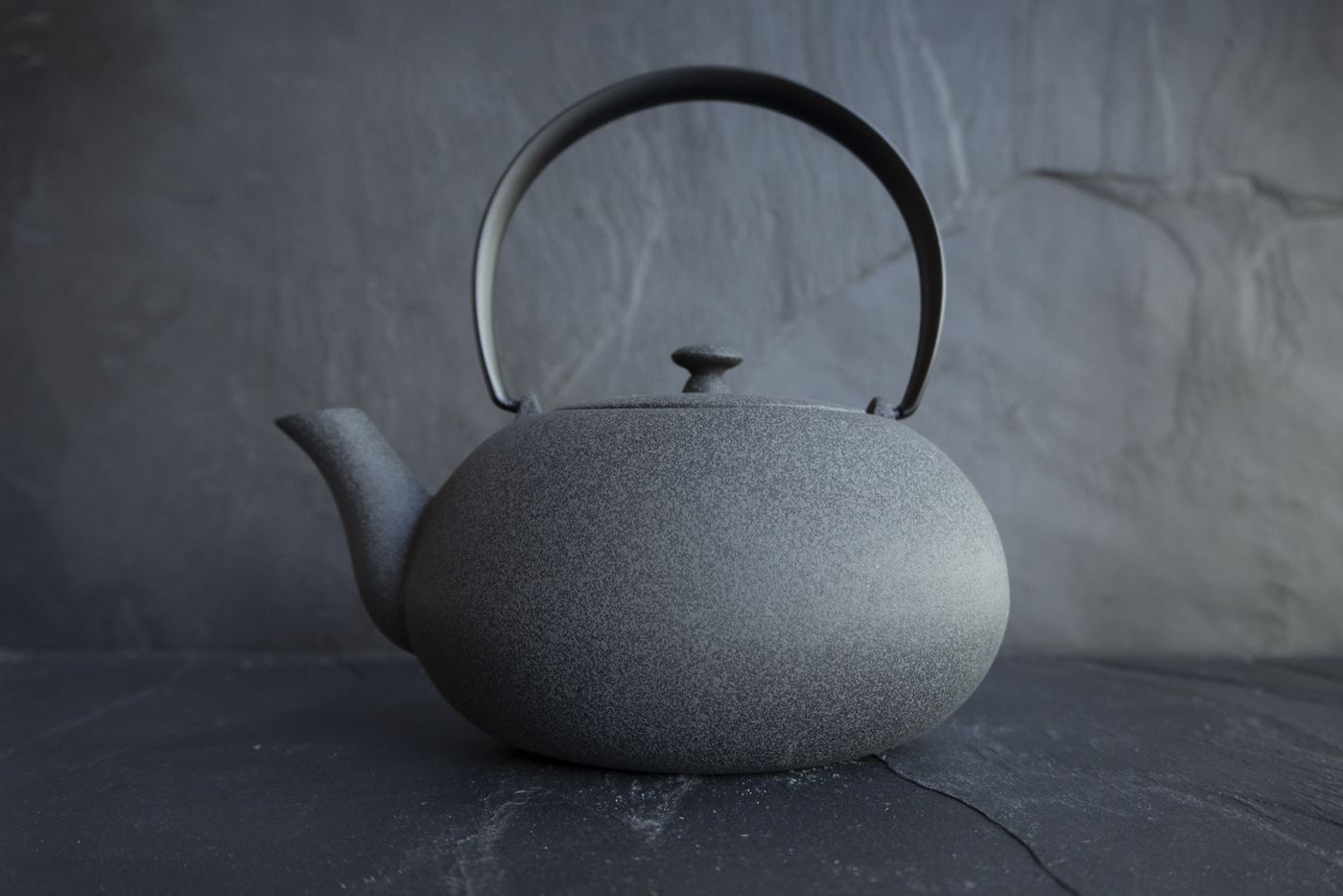 Wazuqu Grey Japanese Cast Iron Teapot 0.55L