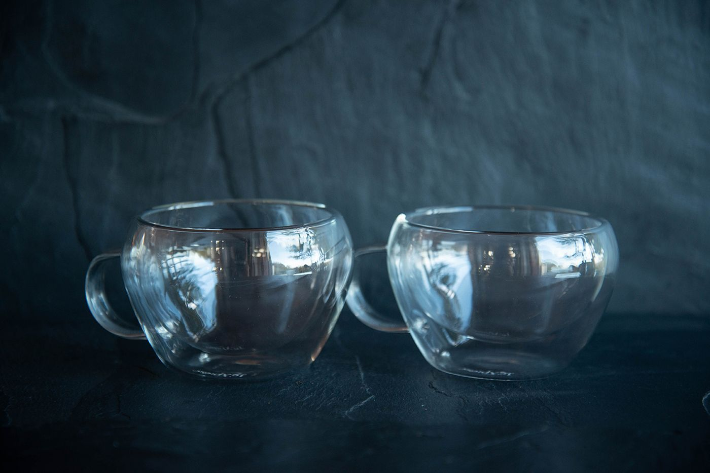 Le 'Xpress Double Walled Glass Tea Cups