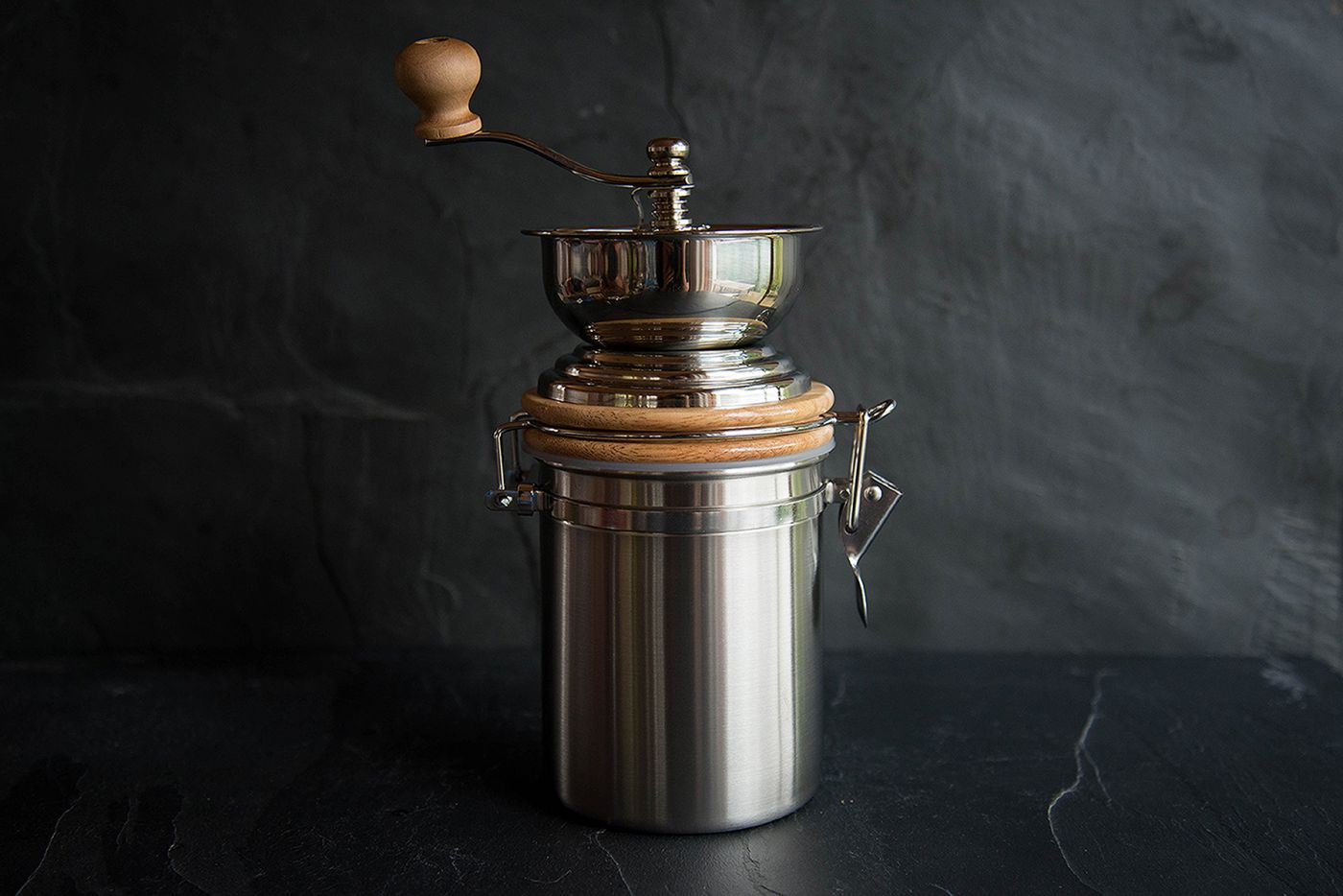 Le 'Xpress Stainless Steel Traditional Coffee Grinder