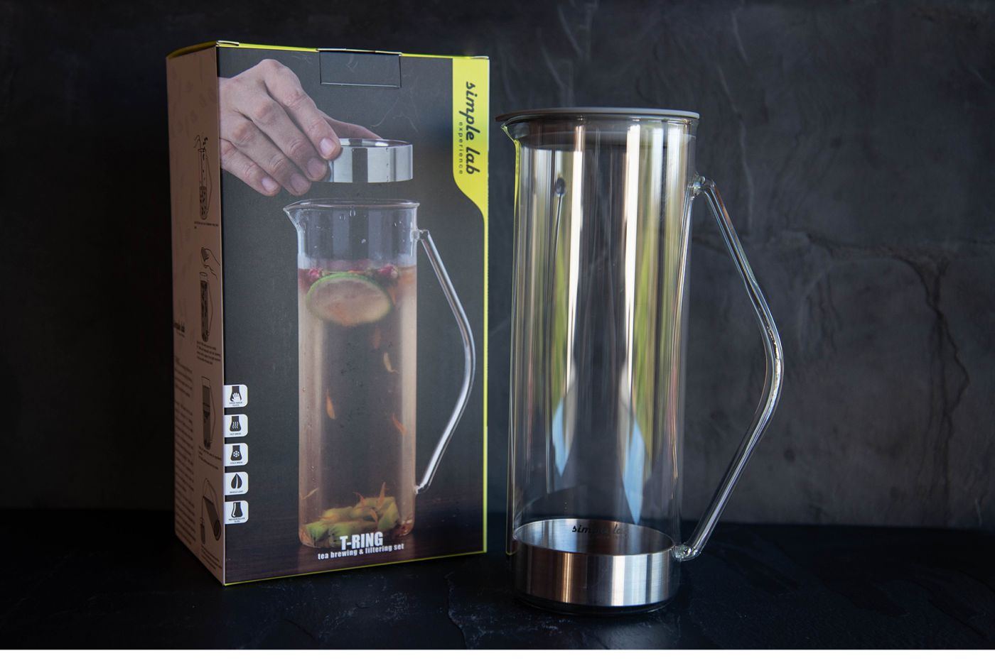 T-RING Tea Brewing and Filtering Set (With Silicone Cap)