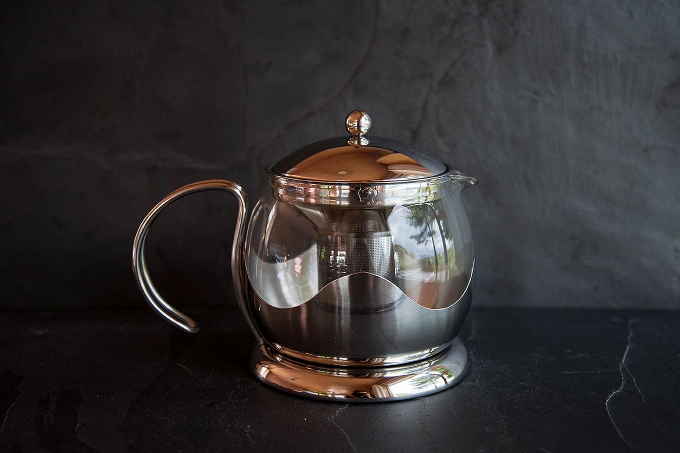 Le Teapot 4 Cup Stainless Steel Infuser Teapot
