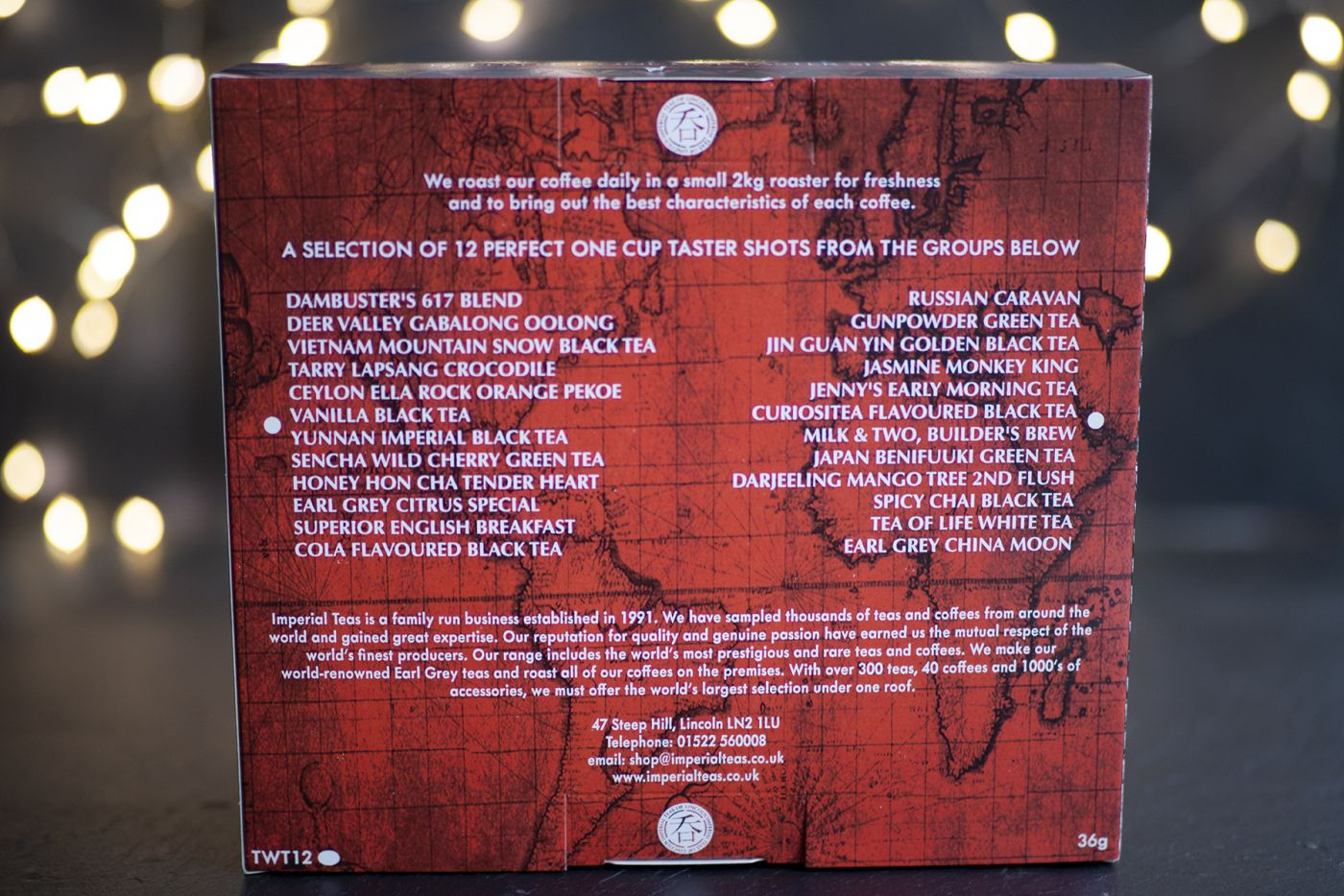 World Tour of Tea 12 Pack
