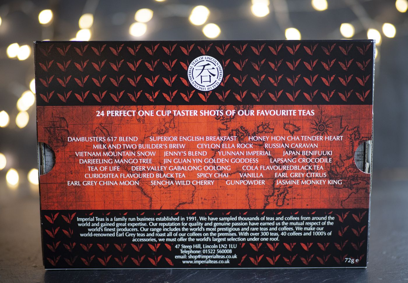 World Tour of Tea 24 Pack