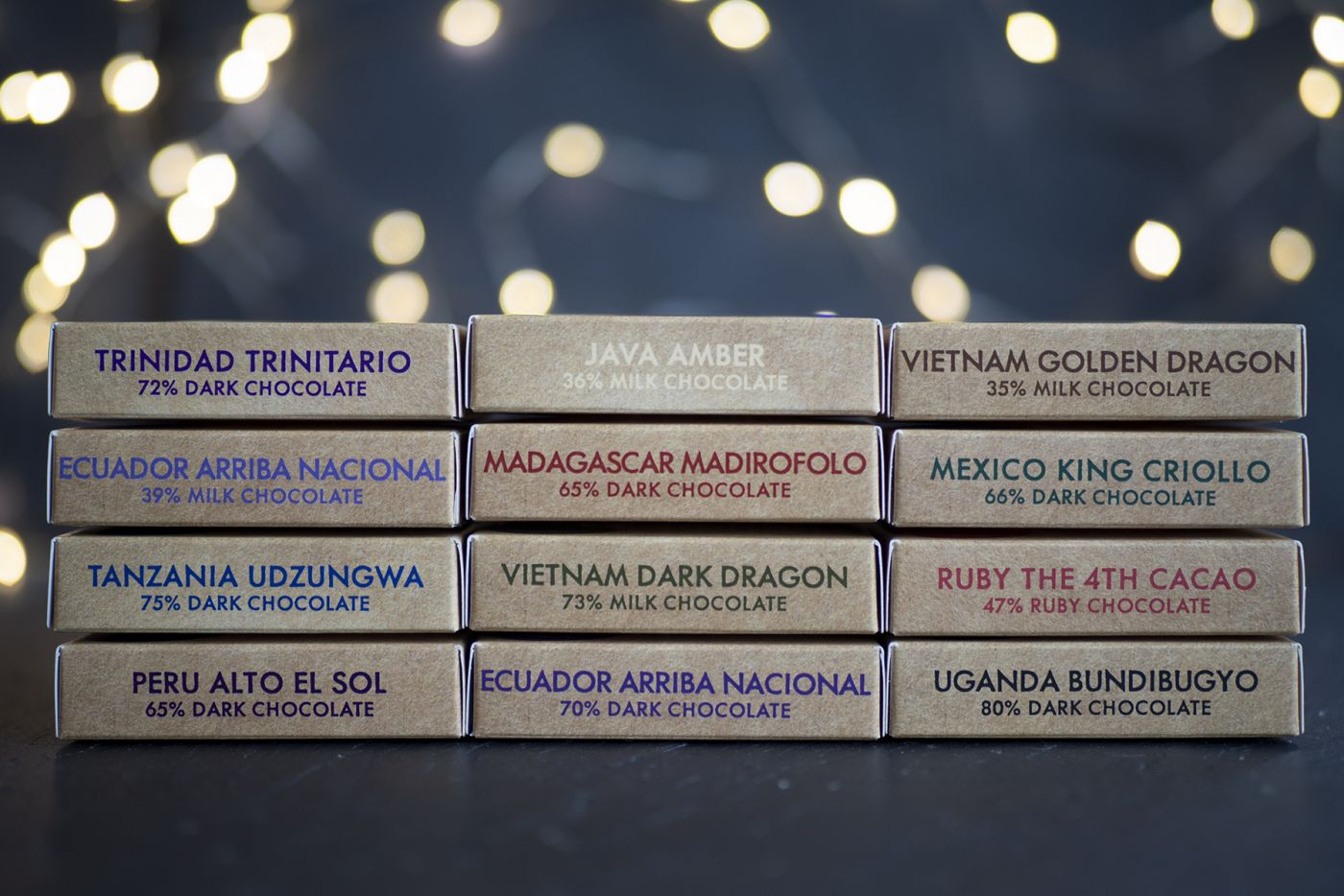 World Tour of Chocolate 12 Pack
